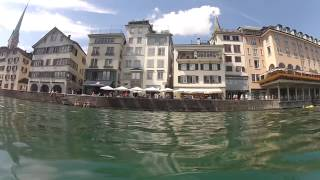 Limmat Swim Zurich 17th Aug 2013