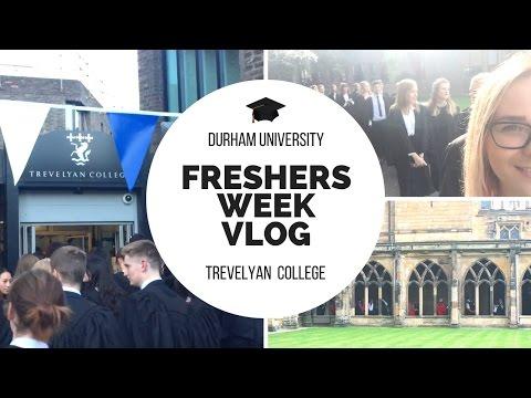 Uni Freshers Week Vlog 2016 // Durham University, Trevelyan College