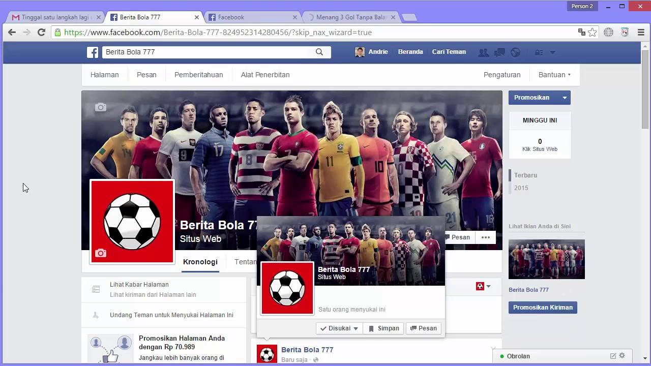 cara membuat page business facebook ads