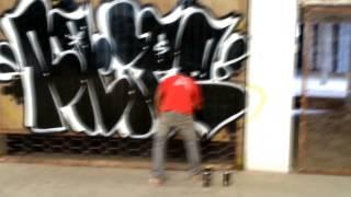 Naipe - graffiti ilegal