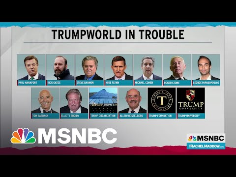 Extent Of Trumpworld Legal Trouble Defies Precedent In U.S., Maybe Anywhere