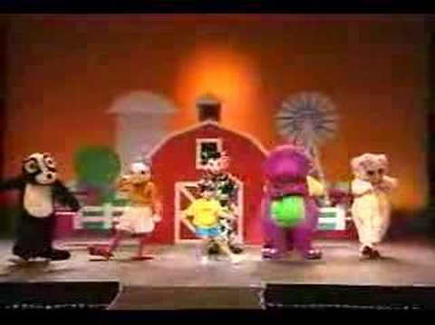 Barney In Concert YouTube - Barney and the back yard gang barney in concert