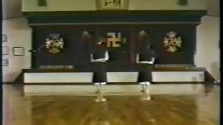 少林寺拳法 古い演武(眞鍋先生)〜shorinjikempo old embu〜