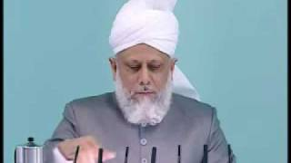 Friday Sermon: 7th May 2010 - Part 3 (Urdu)
