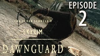 Skyrim: Dawnguard Walkthrough in 1080p, Part 2: Meeting Isran at Fort Dawnguard (in 1080p HD)