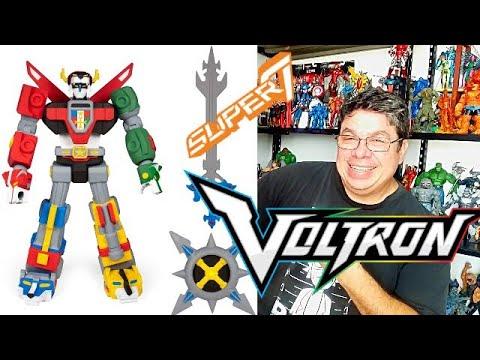 Download VOLTRON DEFENDER OF THE UNIVERSE Super7 Deluxe Action Figure Review sergio guerrero el coleccionista