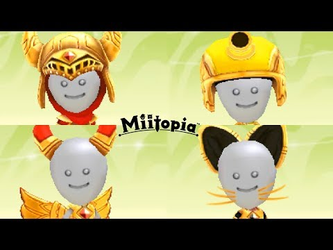 Miitopia - All Costume/Clothing & Armor Sets for Every Job/Class!