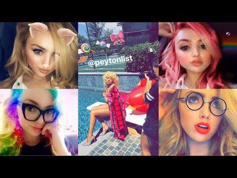 Peyton List  Best Snapchat Moments