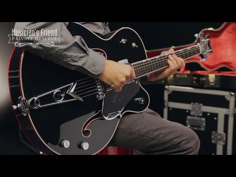 Gretsch Guitars Custom Shop G6136 Luxury Falcon Spectre Hollow Body Electric Guitar