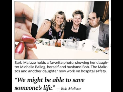 "Patient & Family Engagement: Bob & Barb Malizzo, Patient Advocates Tell ""Michelle's Story"""