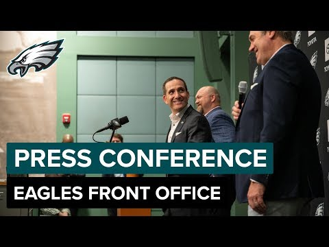 Eagles Front Office Discuss the Team's Second-Round Picks | Eagles Press Conference
