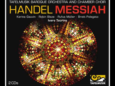 Handel Messiah, Chorus: All we like sheep have gone astray