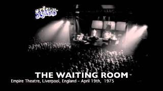 Genesis THE WAITING ROOM live Liverpool 1975