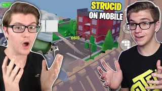 My Twin Brother Played Strucid MOBILE!