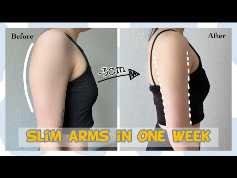 (sub)Get Rid of FLABBY ARMS in ONE WEEK at home//Result: -3cm