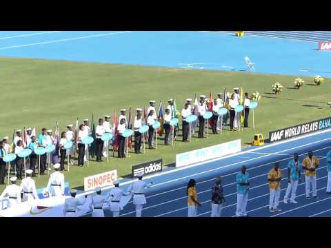 IAAF World Relays Bahamas 2014 Day 1