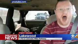 🔴 LIVE I70 Lakewood Colorado Huge Crash Burger Planet IRL Streams