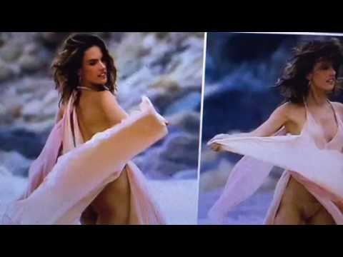 Alessandra Ambrosio Victoria Secret Model Bares It All?