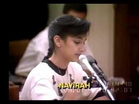 Nayirah Kuwaiti girl testimony