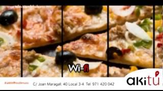 ¿Hacer o comprar pizza? - Diablito Portixol en TVB - Akitú - Canal 4 Mallorca Baleares