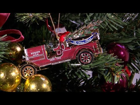 White House Christmas Ornament.Tis The Season White House Christmas Ornaments