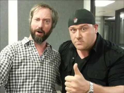 Will Sasso doing Hulk Hogan doing Schwarzenegger (Tom Green Radio)