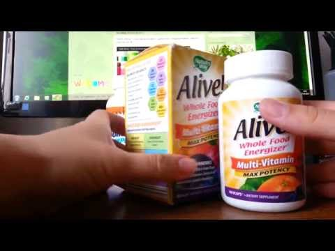 IHerb покупки. Обзор посылки: БАДы, витамины Alive, спирулина, крем. Март 2015.
