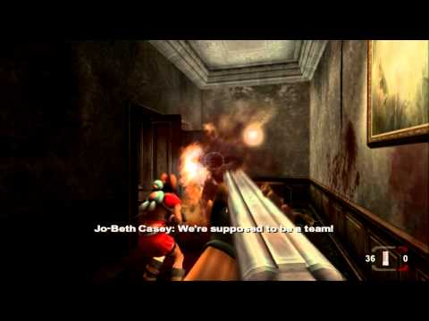 Timesplitters: Future Perfect (PS2) walkthrough - Mansion of Madness