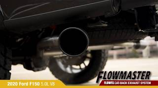 2020 ford f150 flowmaster flowfx catback exhaust drive