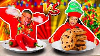SWEET VS SPICY CHALLENGE!! 🌶