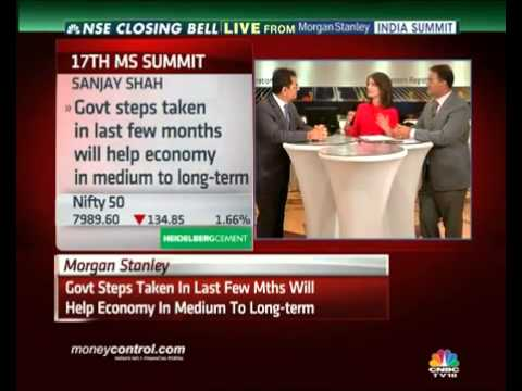 Nifty to hit 9K before it hits 7k: Morgan Stanley - Part 1 - Closing Bell