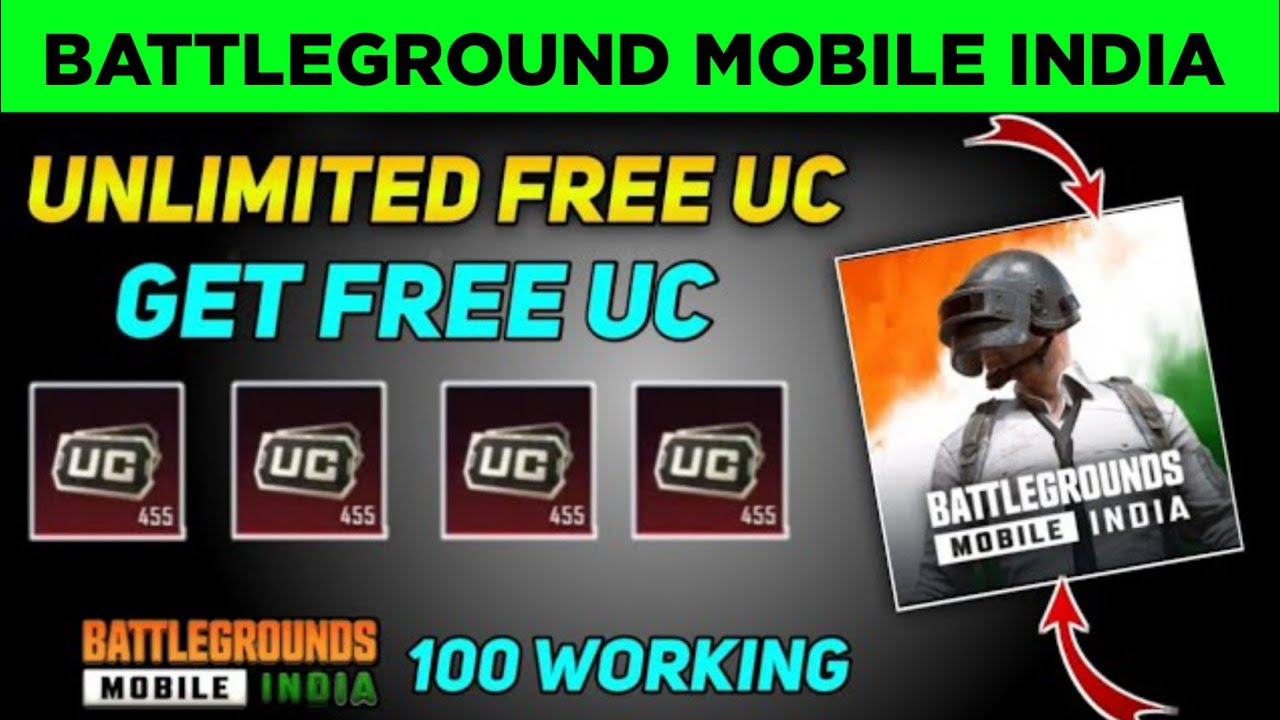 How To Get Free Uc In BATTELGROUNDS MOBILE INDIA | 100% WORK | How To Get Free UC In Bgmi | Free Uc