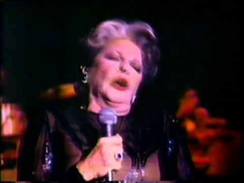 Martha Raye (one of her last singing performances)