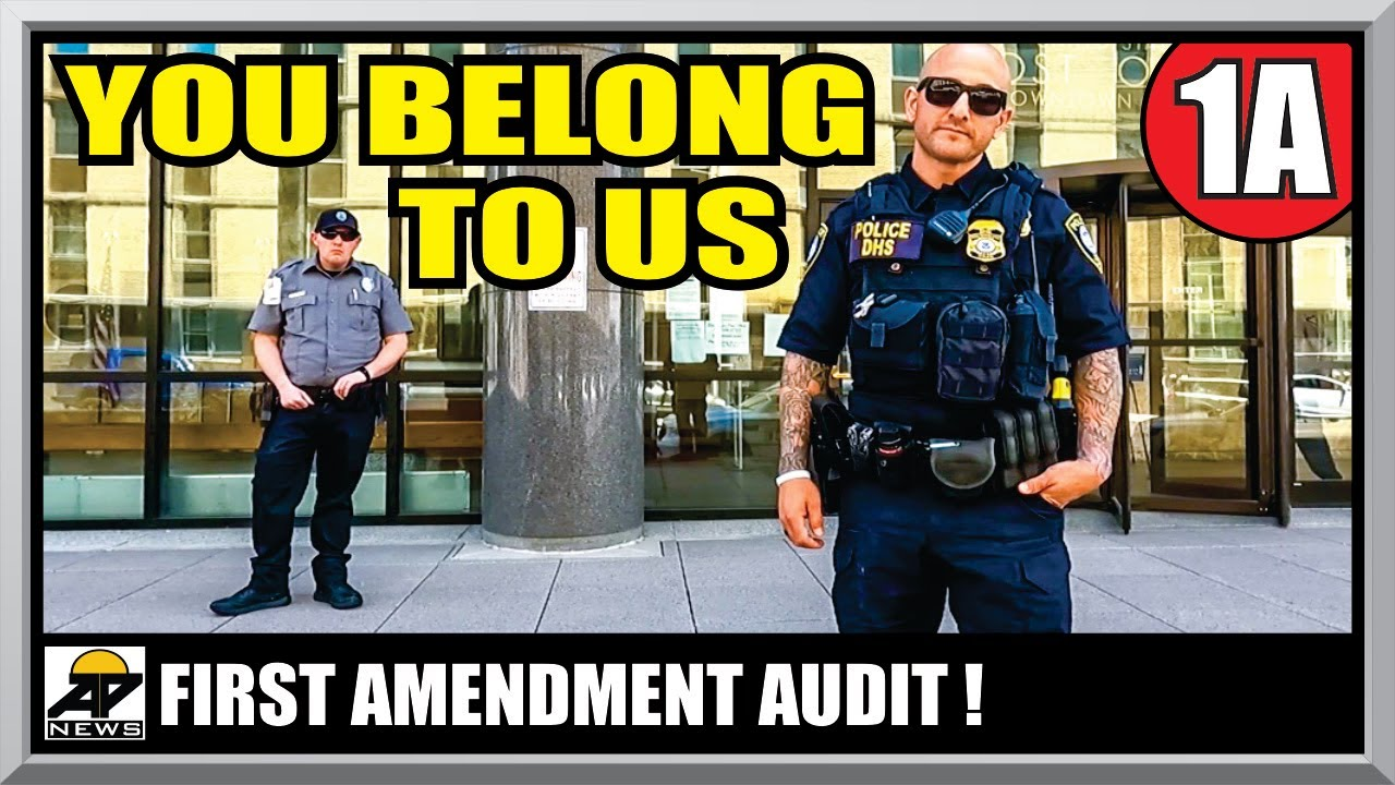 HOW TO ESCAPE A FEDERAL SECURITY TRAP !! U.S. COURTHOUSE - First Amendment Audit - Amagansett Press