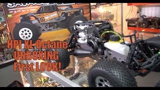 HPI Savage XL Octane Unboxing first look!