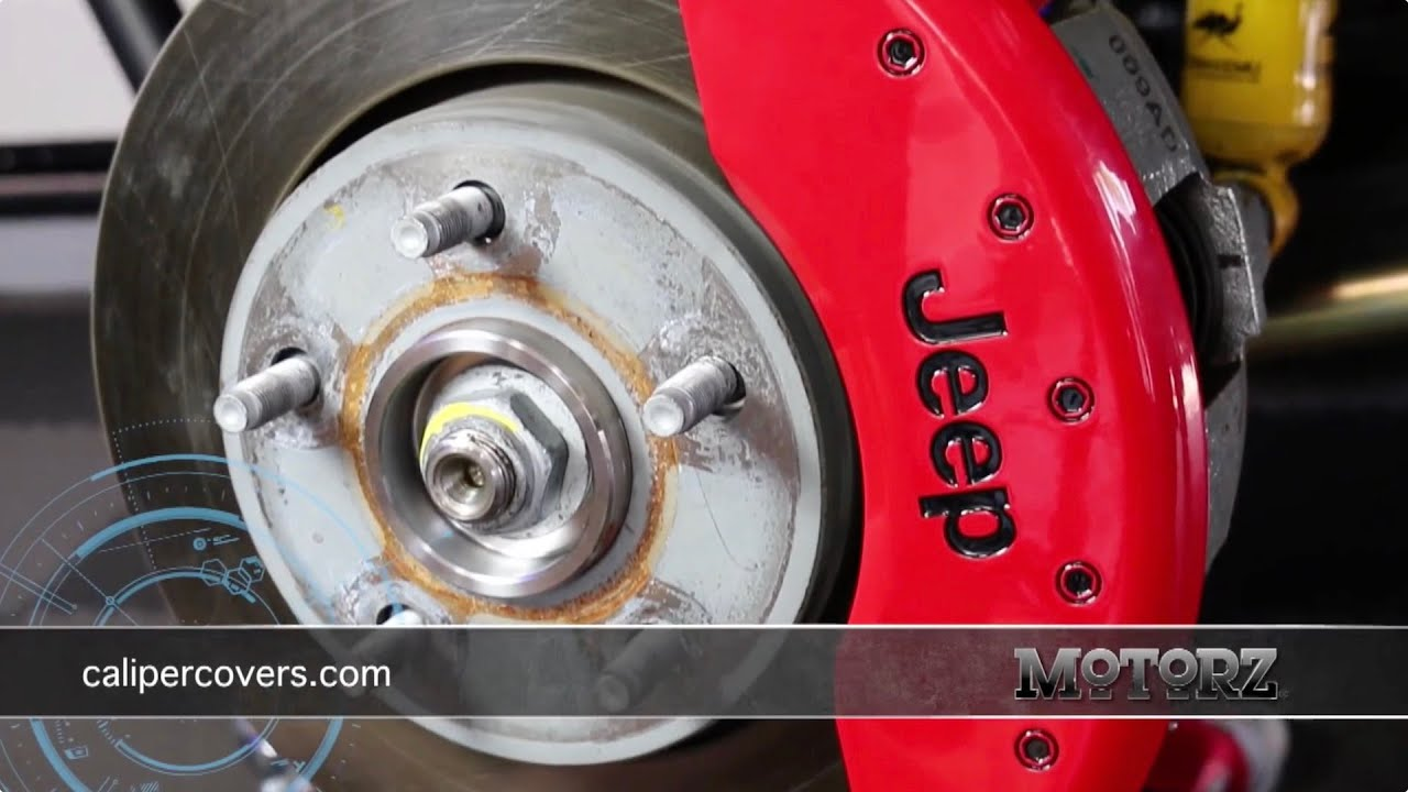 How To Install Mgp Caliper Covers Jeep Wrangler Motorz