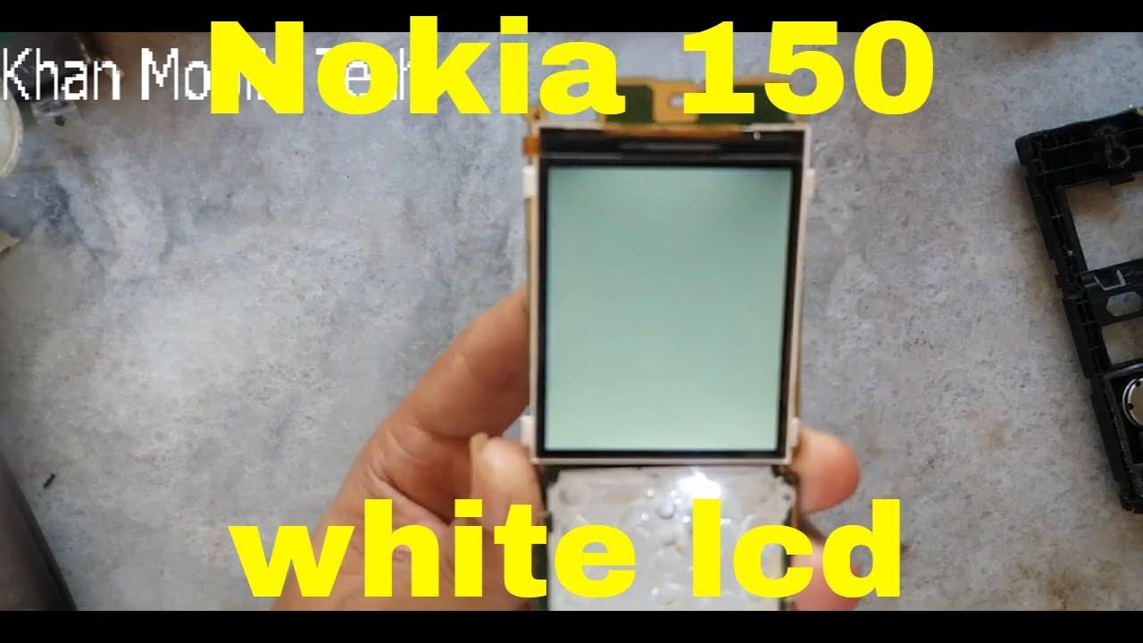 Nokia 150 White Display Solution