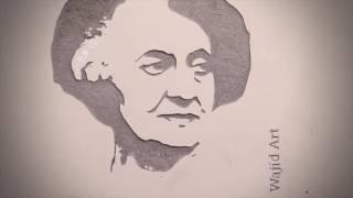 Indira Gandhi Art || Wajid Khan ARTIST