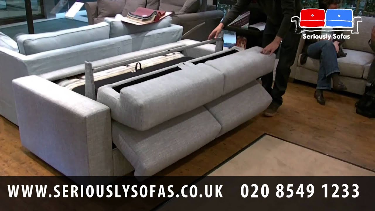 Clearance Sofa Beds Uk Coffee End And Table Sets Lario Italian Made Bed Youtube