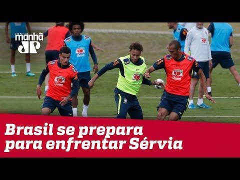 Copa 2018: Brasil Se Prepara Para Enfrentar Sérvia Nesta Quarta (27)