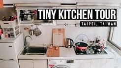 Tiny Kitchen Tour in Taipei, Taiwan | Living in Taiwan as an American 🇹🇼