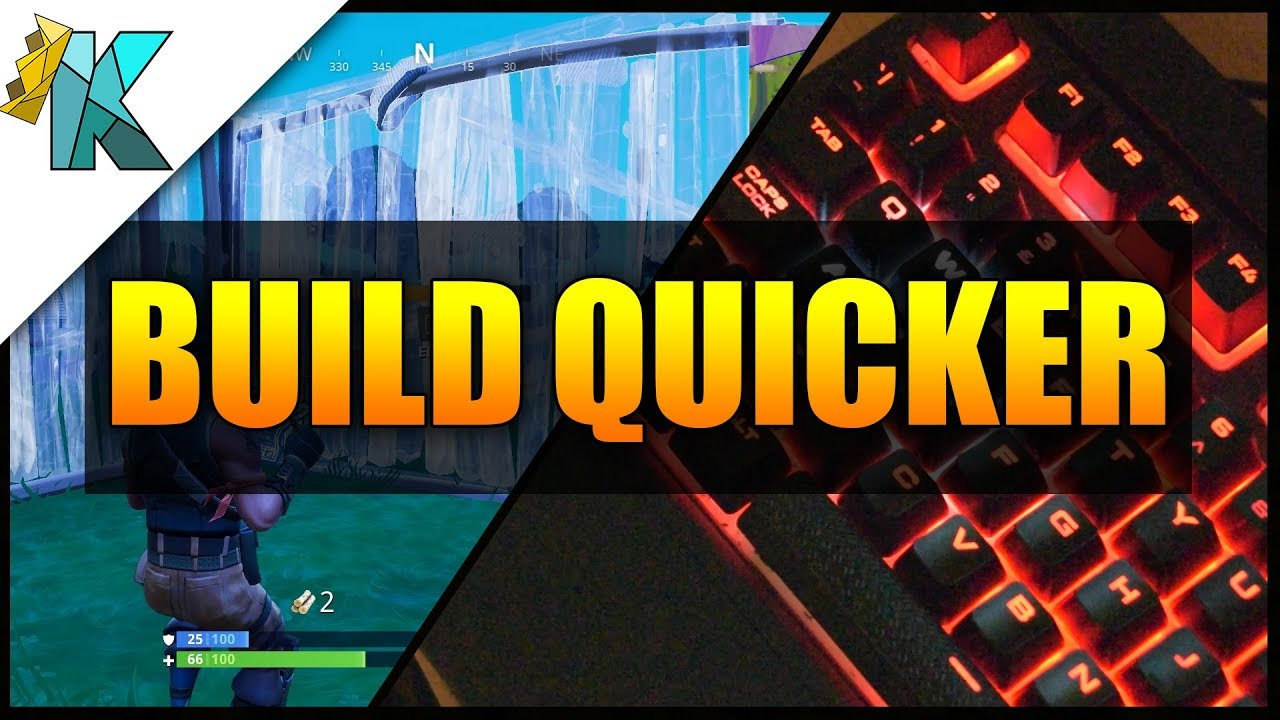 fortnite 101 how to build quicker remap your keyboard mouse buttons - easy fortnite keybinds for small hands