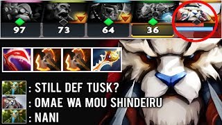 Omae wa mou shindeiru EPIC SHIT 1v5 Def Crazy Rapier Tusk Comeback by Rochi One Punch Man Dota 2