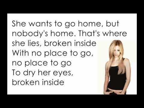 Avril Lavigne -  Nobody's Home [Lyrics/Letra]