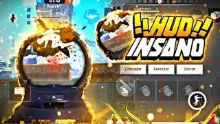HUD INSANO!! (FREE FIRE)