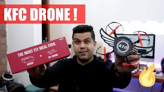 Got A Drone In A KFC Wings BOX ! KFO !