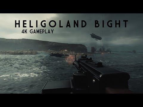 Battlefield One - HELIGOLAND BIGHT - 4K 60FPS Gameplay