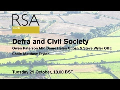 RSA Replay: Defra and Civil Society