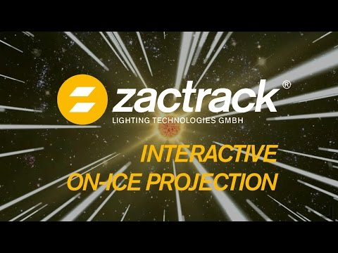 zactrack - Interactive UHD On Ice Projection 2016