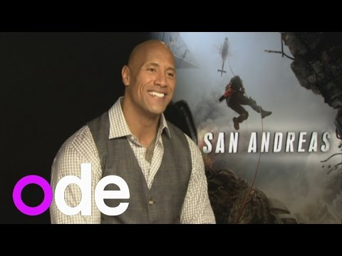 San Andreas: Dwayne Johnson on being a cool dad, delivering cheesy lines and coping in a crisis